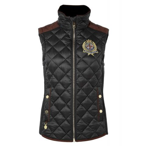 Holland Cooper Ladies Equi Diamond Quilt Gilet