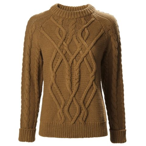Musto Ladies Hollie Chunky Cable Knit Jumper
