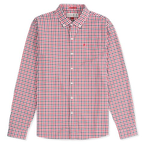 Musto Mens Porto Gingham Long Sleeve Shirt