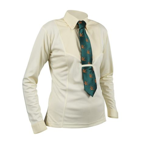 Shires Childrens Long Sleeved Tie Shirt