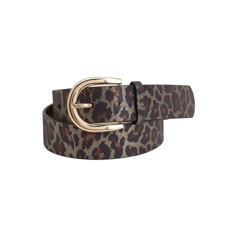 Montar Leopard Leather Belt