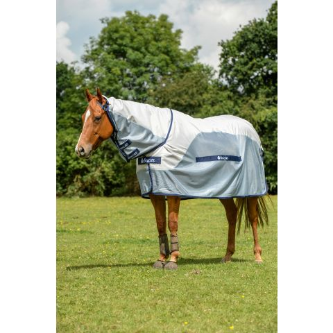 Bucas Buzz-off Rain Full Neck Turnout Rug