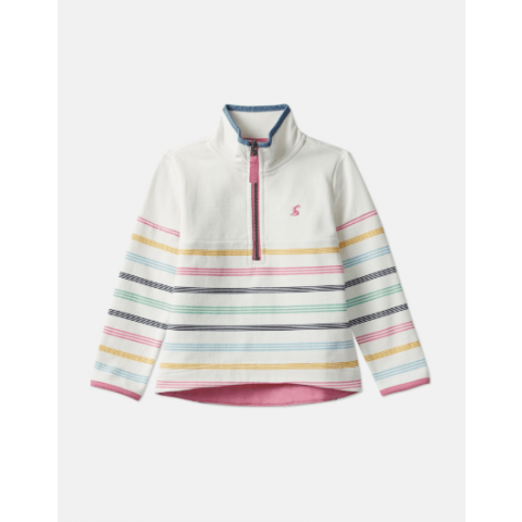 Joules Girls Fairdale Half Zip Sweat