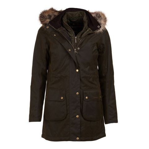 Barbour Ladies Thrunton Wax Jacket