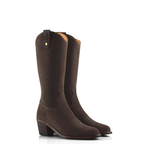 Fairfax & Favor Ladies Rockingham Suede Boots