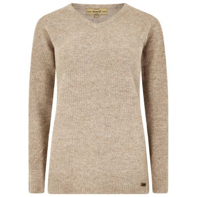 Dubarry Ladies Slievebloom V Neck Sweater