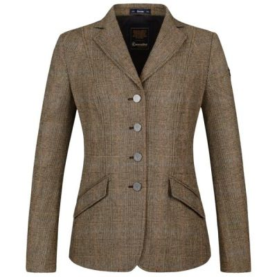 Cavallo Ladies Flint Wool Check Show Jacket
