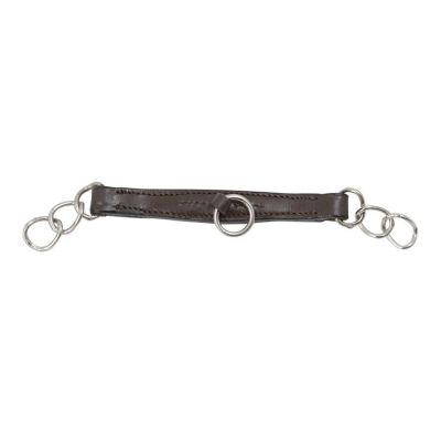 SHIRES LEATHER CURB