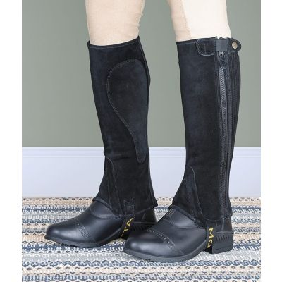 Shires Moretta Adults Suede Half Chaps