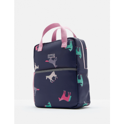 Joules Girls Adventure Mini Rubber Backpack