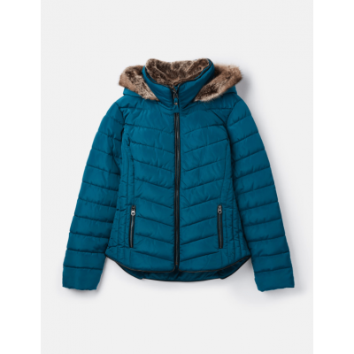 Joules Ladies Gosway Chevron Quilt Padded Jacket