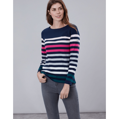Joules Ladies Harbour Long Sleeve Jersey Top
