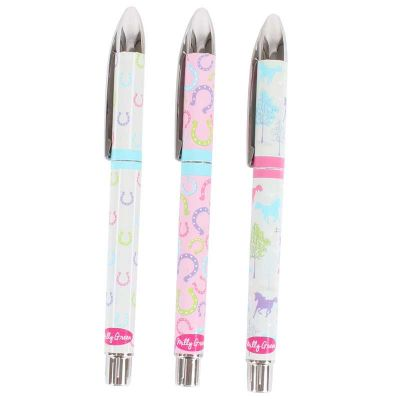 Milly Green Patterned Pens