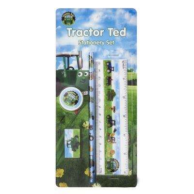 Tractor Ted Stationary Set
